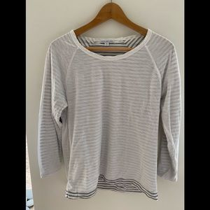 James Perse double layer long sleeved t shirt
